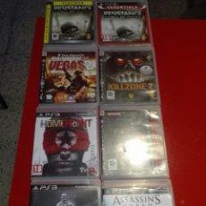 Videojuegos y Consolas: LOTE DE 8 JUEGOS PLAYSTATION 3,PS3..SEGUN FOTOS. Lote 117473880
