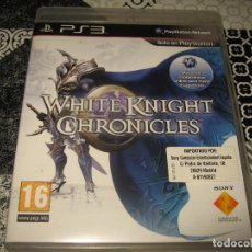 Videogiochi e Consoli: WHITE KNIGHT CHRONICLES PS3 PAL ESPAÑA COMPLETO. Lote 117574087