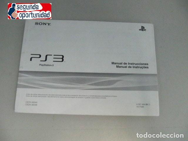 manual de instrucciones ps3 playstation 3 comprar videojuegos y rh todocoleccion net How Made PlayStation 3 Manual PlayStation 3 Console