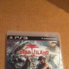 Videojuegos y Consolas: JUEGO CONSOLA PS3 PLAYSTATION 3 DEAD ISLAND. Lote 118056615