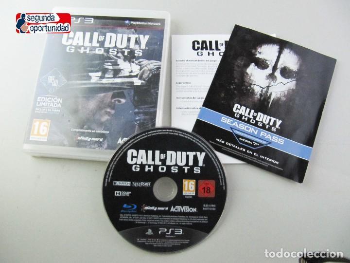 CALL OF DUTY - GHOSTS - PS3 - PLAYSTATION 3 (Juguetes - Videojuegos y Consolas - Sony - PS3)