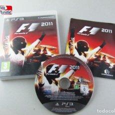 Videojuegos y Consolas: FORMULA 1 - 2011 - PS3 - PLAYSTATION 3. Lote 118113639
