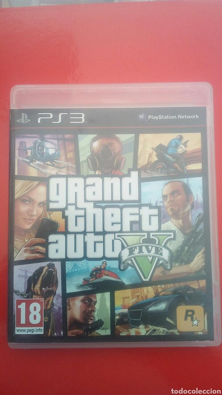 Juego Gta V Ps3 Comprar Videojuegos Y Consolas Ps3 En