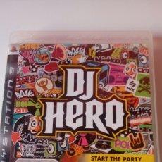 Videojuegos y Consolas: JUEGO PS3 DJ HERO. Lote 118474211