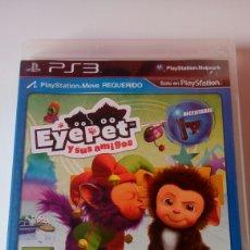 Videojuegos y Consolas: JUEGO PS3 EYEPET Y SUS AMIGOS. Lote 118474490
