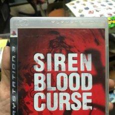 Videojuegos y Consolas: SIREN BLOOD CURSE - SONY PLAYSTATION 3 - PS3 - SURVIVAL HORROR - TERROR - COMPLETO. Lote 118478971