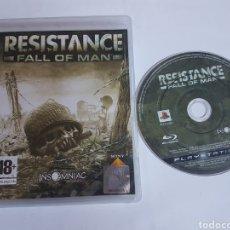 Videojuegos y Consolas: RESISTANCE FALL OF MAN PS3. Lote 118500727
