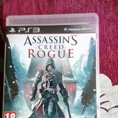 Videojuegos y Consolas: ASSASINS CREED ROGUE PS3. Lote 118885350