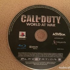 Videojuegos y Consolas: CALL OF DUTY WORLD AT WAR PS3 PLAY STATION 3 PLAYSTATION 3 KREATEN. Lote 118969123