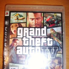 Videojuegos y Consolas: GRAND THEFT AUTO IV - PLAYSTATION 3 - GTA IV - PS3. Lote 119986307