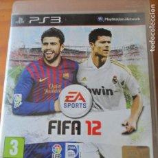 Videojuegos y Consolas: FIFA 12 2012 - VIDEOJUEGO PS3 PLAYSTATION 3-. Lote 121110931