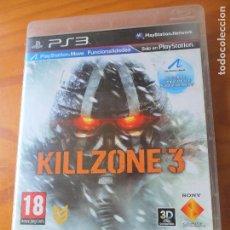 Videojuegos y Consolas: KILLZONE 3 - VIDEOJUEGO PS3 PLAYSTATION 3-. Lote 121112171
