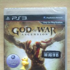 Videojuegos y Consolas: GOD OF WAR ASCENSION NUEVO PRECINTADO PS3. Lote 120017151
