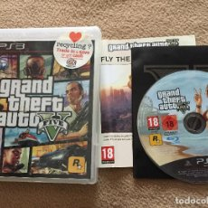 Videojuegos y Consolas: GTA 5 GRAND THEFT AUTO FIVE V PS3 PLAYSTATION 3 PLAY STATION 3 KREATEN. Lote 121285879
