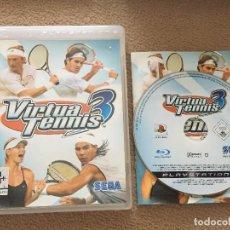 Videojuegos y Consolas: VIRTUA TENNIS 3 TENIS SEGA CASTELLANO PS3 PLAYSTATION 3 PLAY STATION 3. Lote 121362863