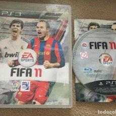 Videojuegos y Consolas: FIFA 11 CASTELLANO PS3 PLAYSTATION 3 PLAY STATION 3. Lote 121363847