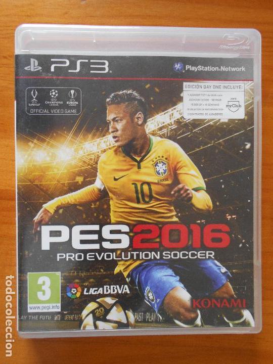 PS3 - PES 2016 PRO EVOLUTION SOCCER - PLAYSTATION 3 - VERSION ESPAÑA (Q6)
