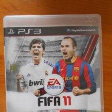 Videojuegos y Consolas: PS3 - FIFA 11 - PLAYSTATION 3 - VERSION ESPAÑA (Q6). Lote 121632647