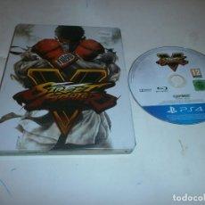 Videojuegos y Consolas: STREET FIGHTER V PLAYSTATION 4 PAL ESPAÑA EDICION CAJA METALICA. Lote 121928215