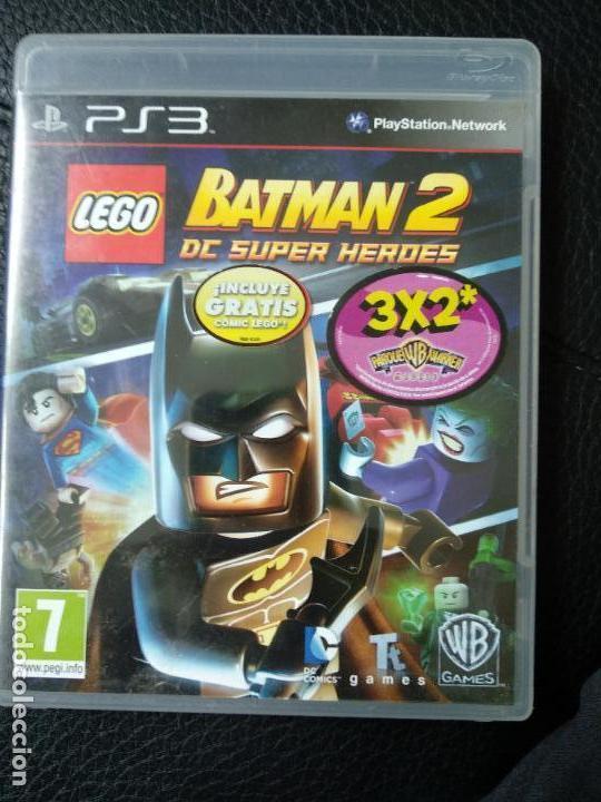 Juego Ps3 Lego Batman 2 Dc Superheroes Comprar Videojuegos Y