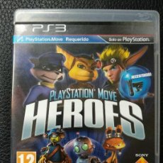 Videojuegos y Consolas: JUEGO HEROES MOVE SONY PAL PLAYSTATION 3 PS3 . Lote 123048827