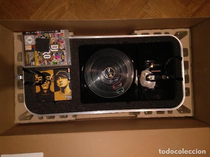 CAJA EDICION DE LUJO DJ HERO RENEGADE NUEVO PLAYSTATION 3 INCLUYE CD EMINEM Y JAY-Z RAP HIP HOP (Juguetes - Videojuegos y Consolas - Sony - PS3)