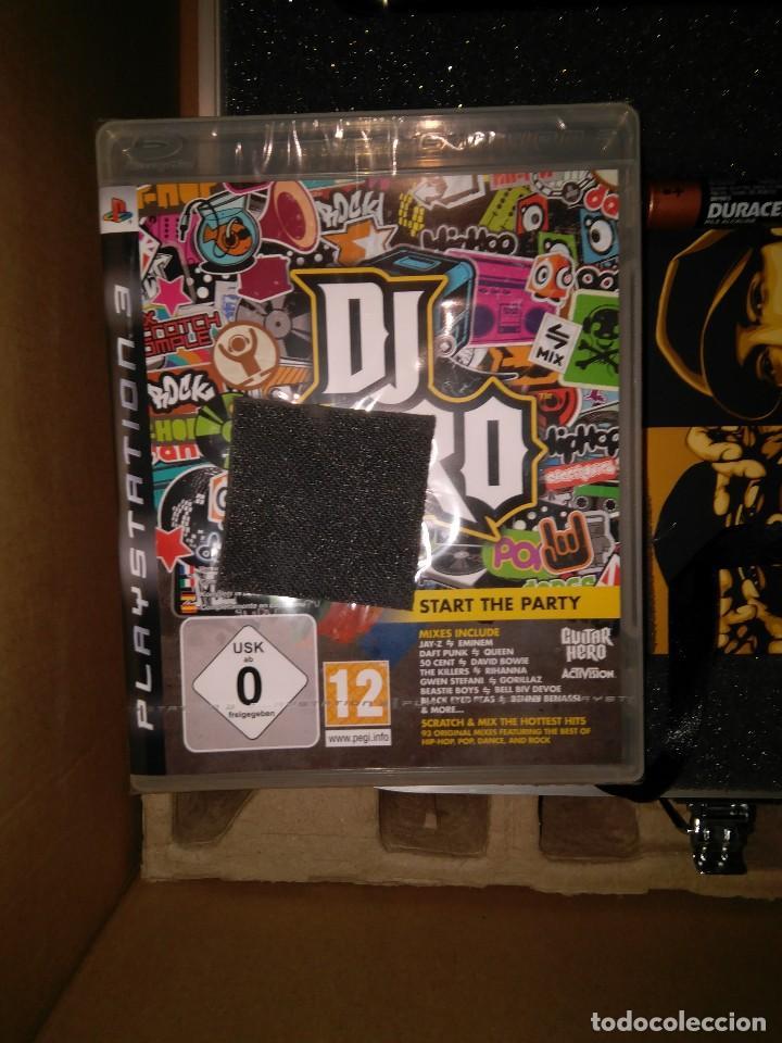 Videojuegos y Consolas: CAJA EDICION DE LUJO DJ HERO RENEGADE NUEVO PLAYSTATION 3 INCLUYE CD EMINEM Y JAY-Z rap hip hop - Foto 3 - 217952275