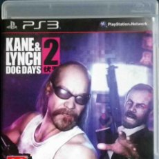 Videojuegos y Consolas: PS3 KANE & LYNCH 2 DOG DAYS - ESPAÑOL, COMPLETO E IMPECABLE - PARTICULAR.. Lote 125318199