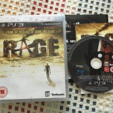 Videojuegos y Consolas: RAGE PS3 PLAYSTATION 3 PLAY STATION 3 KREATEN. Lote 128110847