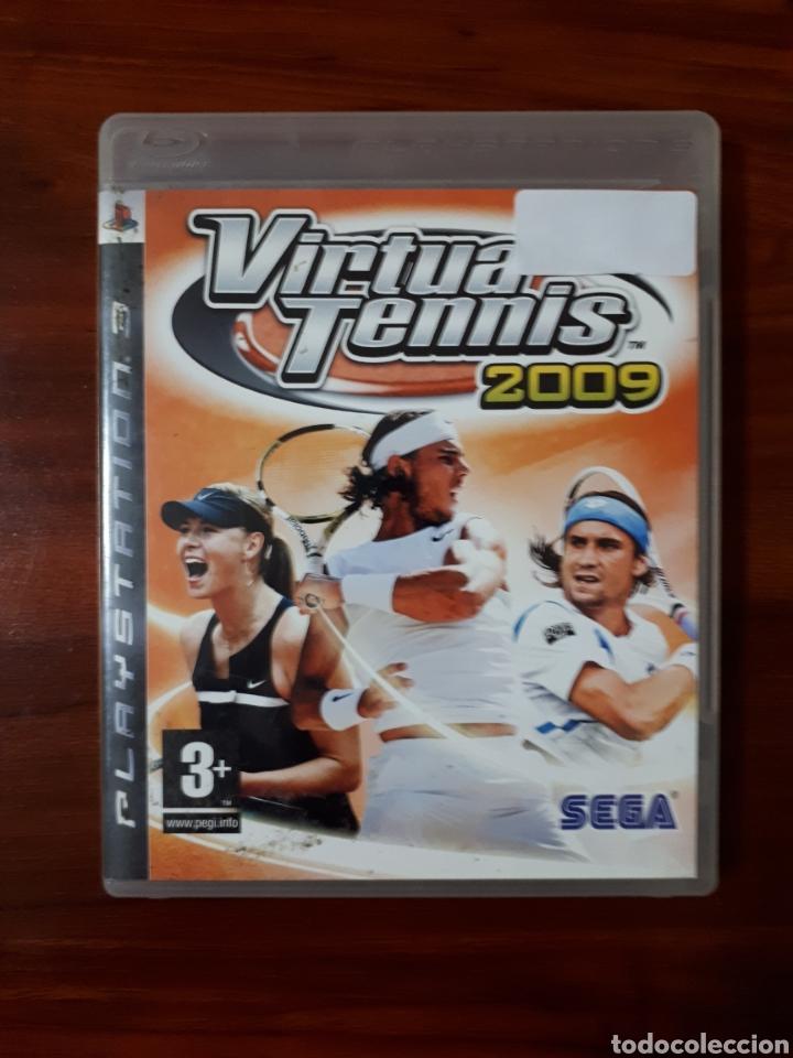 VIRTUA TENNIS 2009 - SONY PLAYSTATION 3 - PS3 - SEGA - TENIS (Juguetes - Videojuegos y Consolas - Sony - PS3)