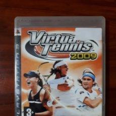 Videojuegos y Consolas: VIRTUA TENNIS 2009 - SONY PLAYSTATION 3 - PS3 - SEGA - TENIS. Lote 104977395