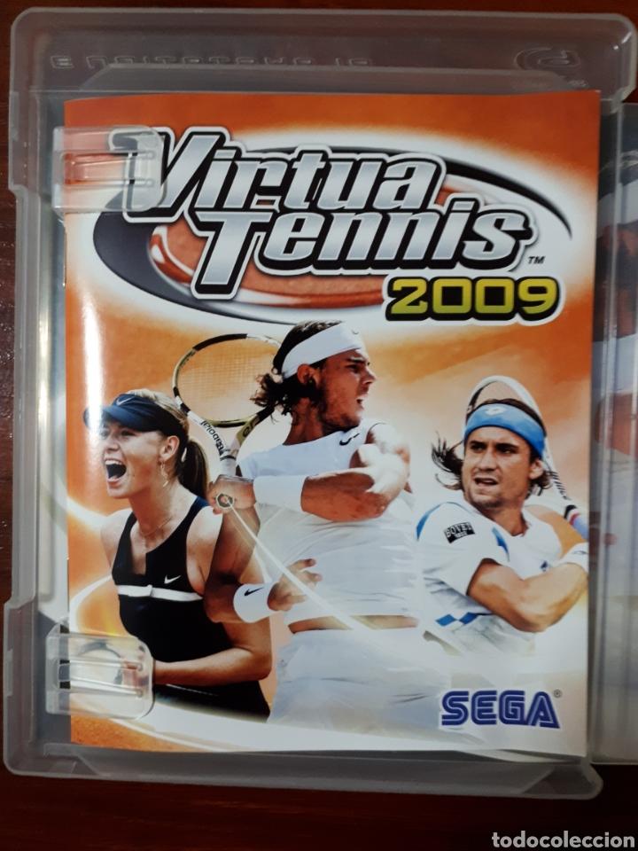 Videojuegos y Consolas: VIRTUA TENNIS 2009 - SONY PLAYSTATION 3 - PS3 - SEGA - TENIS - Foto 2 - 104977395