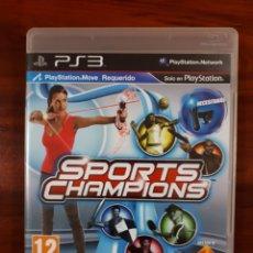 Videojuegos y Consolas: SPORTS CHAMPIONS - SONY PLAYSTATION 3 - PS3 - PLAYSTATION MOVE - COMPLETO. Lote 112729367