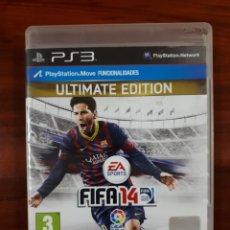 Videojuegos y Consolas: FIFA 14 - FIFA 2014 - ULTIMATE EDITION - FUTBOL - SONY PLAYSTATION 3 - PS3. Lote 112786527