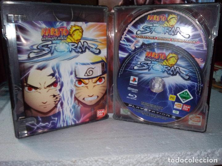 -NARUTO ULTIMATE NINJA STORM-COLLECTORS EDITION- 2 DISCOS-PLAY 3-BANDAI (Juguetes - Videojuegos y Consolas - Sony - PS3)