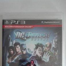 Videojuegos y Consolas: DC UNIVERSE ONLINE PS3 PLAYSTATION 3 NUEVO PRECINTADO. Lote 128470527