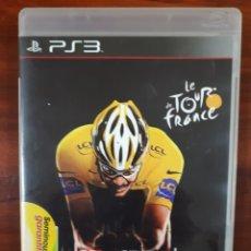 Videojuegos y Consolas: LE TOUR DE FRANCE - SONY PLAYSTATION 3 - PS3 - CICLISMO - BLU-RAY - COMPLETO. Lote 112716791