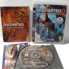 Videojuegos y Consolas: UNCHARTED 2 EL REINADO DE LOS LADRONES PLAYSTATION 3 PS3. Lote 128646767