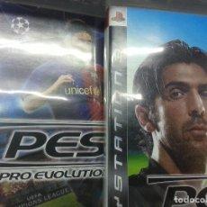Videojuegos y Consolas: PS3 GRAN LOTE 6 JUEGOS FÚTBOL PES 2008 2009 2010 2011 2012 Y 2013 PES PRO EVOLUTION SOCCER. Lote 128698059
