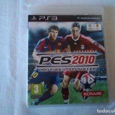 Videojuegos y Consolas: 7-JUEGO PS3, PRO EVOLUTION SOCCER 2010. Lote 128933667