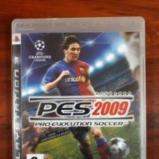 Videojuegos y Consolas: PRO EVOLUTION SOCCER 2009 - PES 2009 - KONAMI - SONY PLAYSTATION 3 - PS3 - COMPLETO. Lote 106043131
