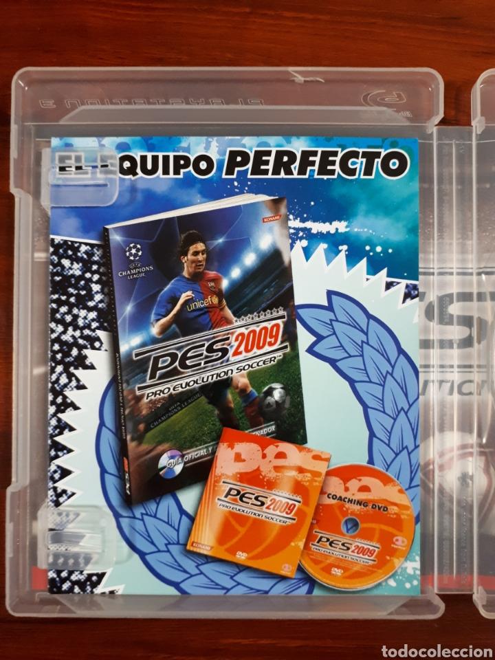 Videojuegos y Consolas: PRO EVOLUTION SOCCER 2009 - PES 2009 - KONAMI - SONY PLAYSTATION 3 - PS3 - COMPLETO - Foto 3 - 106043131
