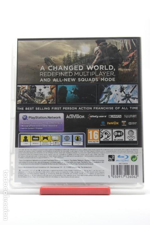 Videojuegos y Consolas: CALL OF DUTY GHOSTS PS3 - NUEVO - Foto 2 - 126598039