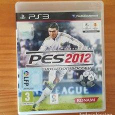 Videojuegos y Consolas: PES 2012 PRO EVOLUTION SOCCER. JUEGO PLAYSTATION 3 PS3 FUTBOL KONAMI. Lote 130149111