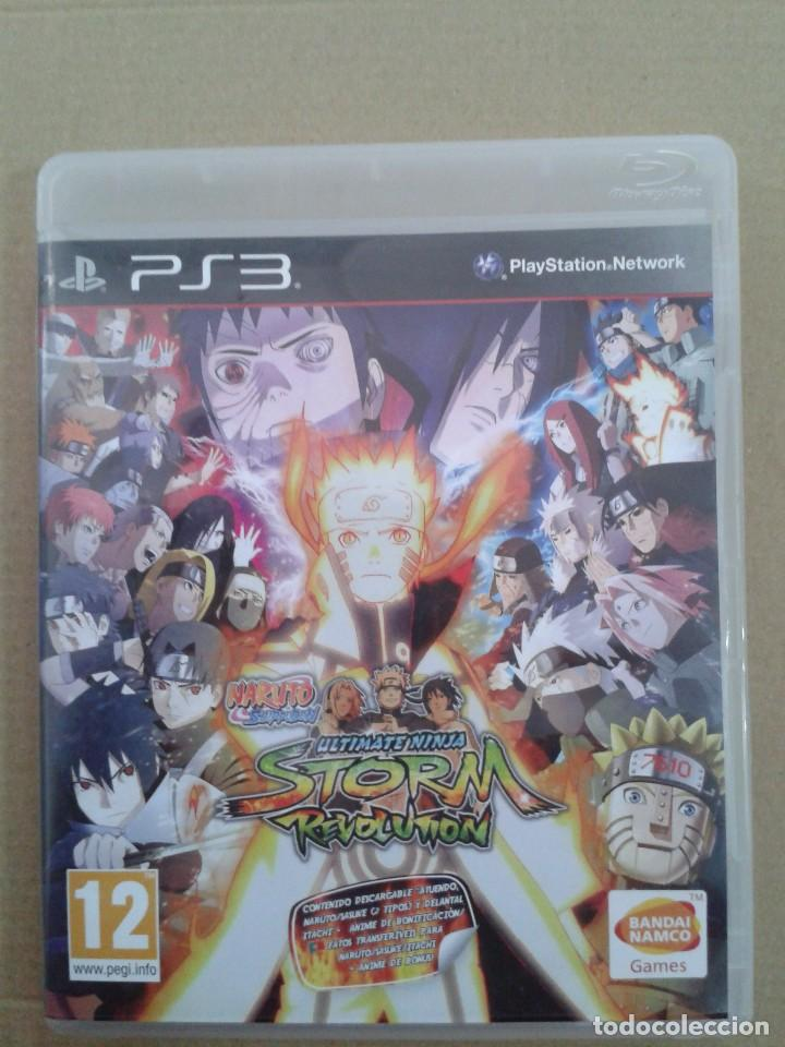 NinjaStorm Revolution Naruto ShippudenUltimate EditionPs3 Rivals 35jcq4ARL