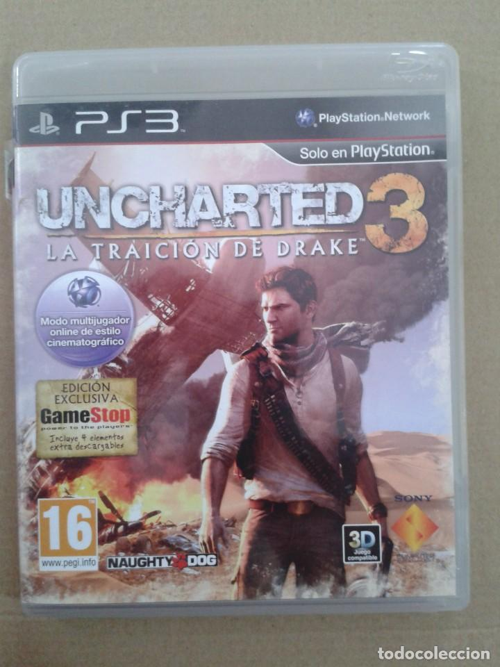 UNCHARTED 3: LA TRAICIÓN DE DRAKE (PS3) (Juguetes - Videojuegos y Consolas - Sony - PS3)