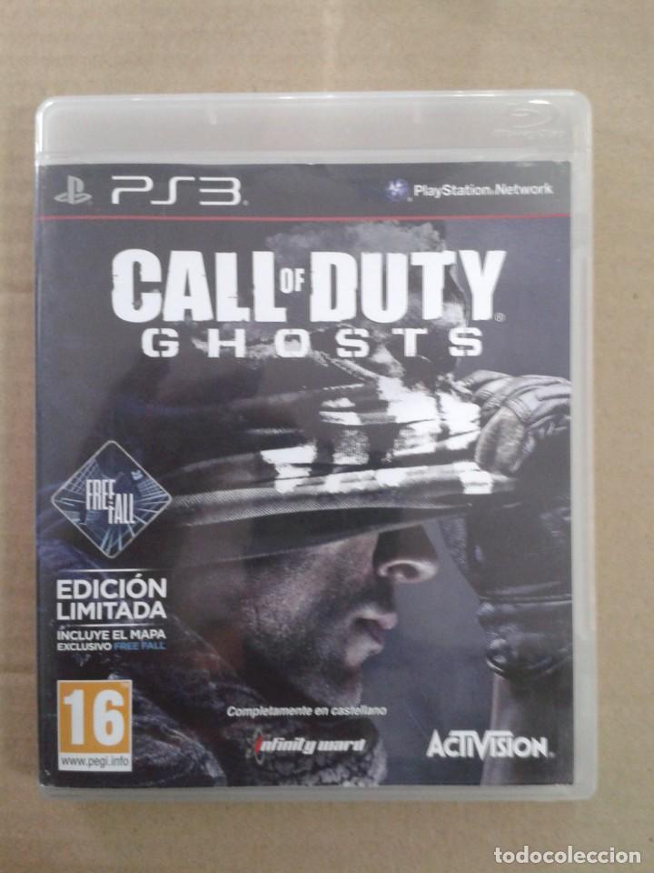 CALL OF DUTY GHOSTS. PS3 (Juguetes - Videojuegos y Consolas - Sony - PS3)