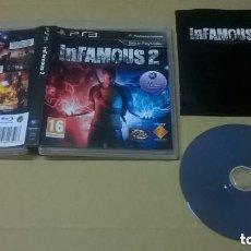 Videojuegos y Consolas: JUEGO PLAY 3 INFAMOUS 2. Lote 131020932