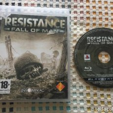 Videojuegos y Consolas: RESISTANCE FALL OF MAN PS3 PLAYSTATION 3 PLAY STATION 3 KREATEN. Lote 132342478