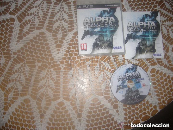 JUEGO PLAY 3 ALPHA PROTOCOL (Juguetes - Videojuegos y Consolas - Sony - PS3)